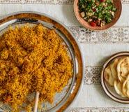 Alimento delicioso para uma festa da ramadã imagens de stock royalty free