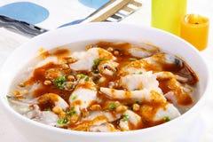 Alimento delizioso cinese Fotografie Stock Libere da Diritti