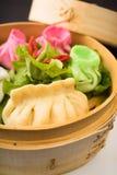 Alimento dell'asiatico di dim sum Fotografia Stock