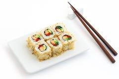 Alimento dell'asiatico di Teaste Fotografia Stock