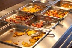 Alimento dell'hotel Fotografie Stock