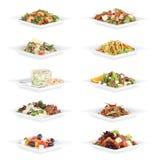 Alimento dell'insalata Fotografia Stock Libera da Diritti
