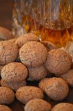 Alimento dell'italiano di amaretti dei biscotti fotografia stock libera da diritti