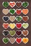 Alimento della disintossicazione di dieta Fotografia Stock