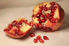 Alimento della frutta del melograno tropicale immagini stock