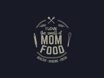 Alimento della mamma royalty illustrazione gratis