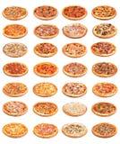 Alimento della pizza Immagine Stock