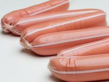 Alimento della salsiccia Immagini Stock Libere da Diritti