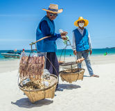 Alimento della spiaggia Fotografia Stock Libera da Diritti