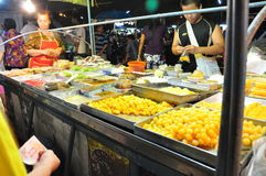 Alimento della Tailandia Fotografie Stock Libere da Diritti