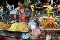 Alimento della via di Bangkok Immagine Stock Libera da Diritti