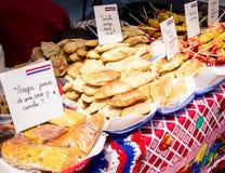 Alimento della via di Empanadas Fotografie Stock
