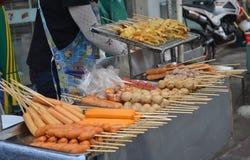 Alimento della via in Tailandia Fotografie Stock