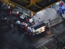 Alimento della via in Tailandia Fotografia Stock Libera da Diritti