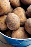 Alimento delle verdure grezze delle patate Immagini Stock