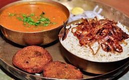 Alimento Dhansak de Parsi Fotografía de archivo libre de regalías