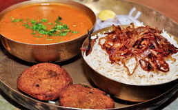 Alimento Dhansak di Parsi Fotografia Stock Libera da Diritti