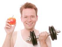 Alimento di allenamento immagine stock