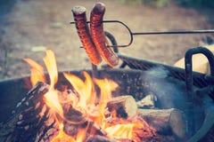 Alimento di campeggio Immagine Stock Libera da Diritti