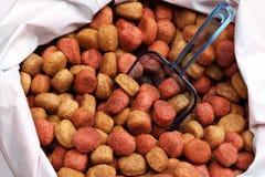Alimento di cane Fotografia Stock