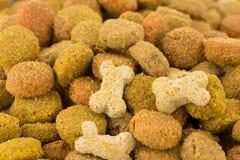 Alimento di cane immagini stock
