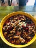 Alimento di Chengdu fotografia stock