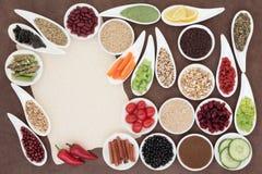 Alimento di dieta sana Fotografia Stock Libera da Diritti