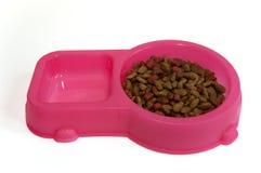Alimento di gatto Fotografie Stock Libere da Diritti