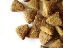 Alimento di gatto o del cane Fotografia Stock