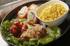 Alimento di Japaness Fotografia Stock