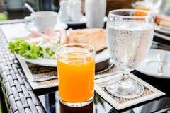 Alimento di mattina Fotografie Stock Libere da Diritti