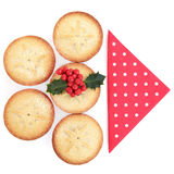 Alimento di Natale Fotografia Stock Libera da Diritti