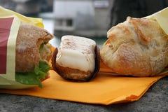 Alimento di Parigi Fotografie Stock Libere da Diritti