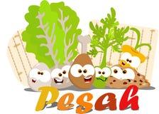 Alimento di Passover Immagine Stock