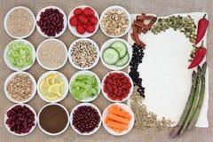 Alimento di perdita di peso Immagini Stock
