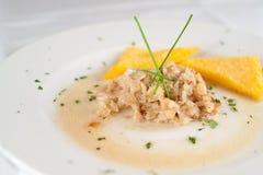 alimento di pesci italiano Fotografia Stock