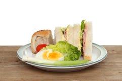 Alimento di picnic Fotografia Stock