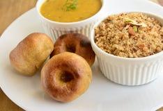 Alimento di Rajasthani dell'indiano Immagini Stock Libere da Diritti