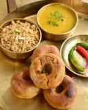 Alimento di Rajasthani dell'indiano Fotografia Stock Libera da Diritti