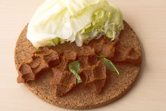 Alimento di tradizione del kofte di Cig Fotografia Stock