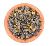 Alimento di Tulasi Paan Immagine Stock