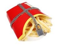 Alimento di Unhealpthy Fotografie Stock