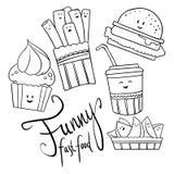 Alimento divertido Imagen de archivo libre de regalías