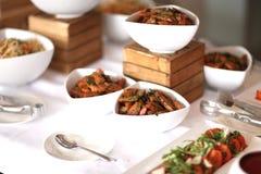 Alimento do bufete Imagens de Stock