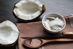 Alimento do coco Imagem de Stock Royalty Free