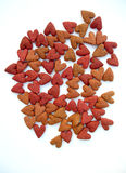 Alimento do coração Imagem de Stock