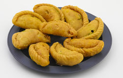 Alimento do doce de Gunjiya imagem de stock