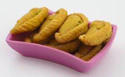 Alimento do doce de Gunjiya imagens de stock royalty free