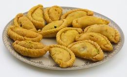 Alimento do doce de Gunjiya fotografia de stock