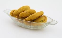 Alimento do doce de Gunjiya fotografia de stock royalty free